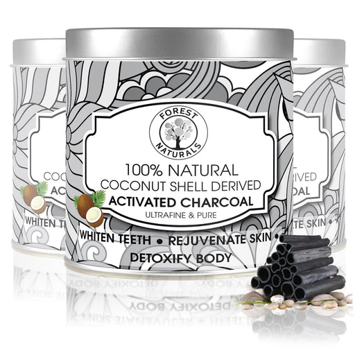Dr Trust USA Forest Naturals Natural Coconut Shell Derived Activated Charcoal (250 gm).