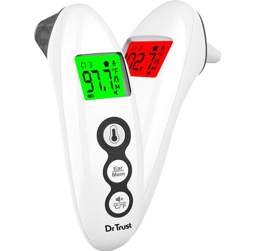 Dr Trust Thermometer2 Dr Trust USA Handy Infrared Forehead & Ear Thermometer 607 PRO