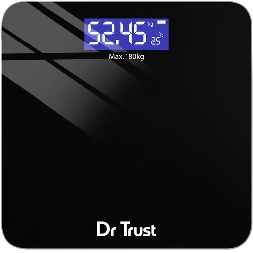 Dr Trust Weighing Scale not body fat Dr Trust USA Zen Rechargeable Digital Personal Scale Weighing Machine 503