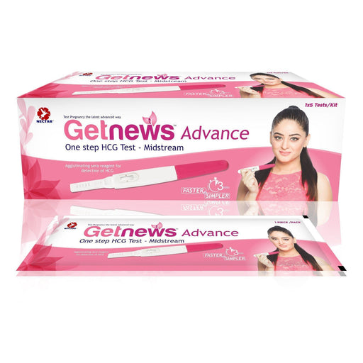 Dr Trust pregnancy Getnews Advance Pregnancy Test Kit (Pack Of 5)