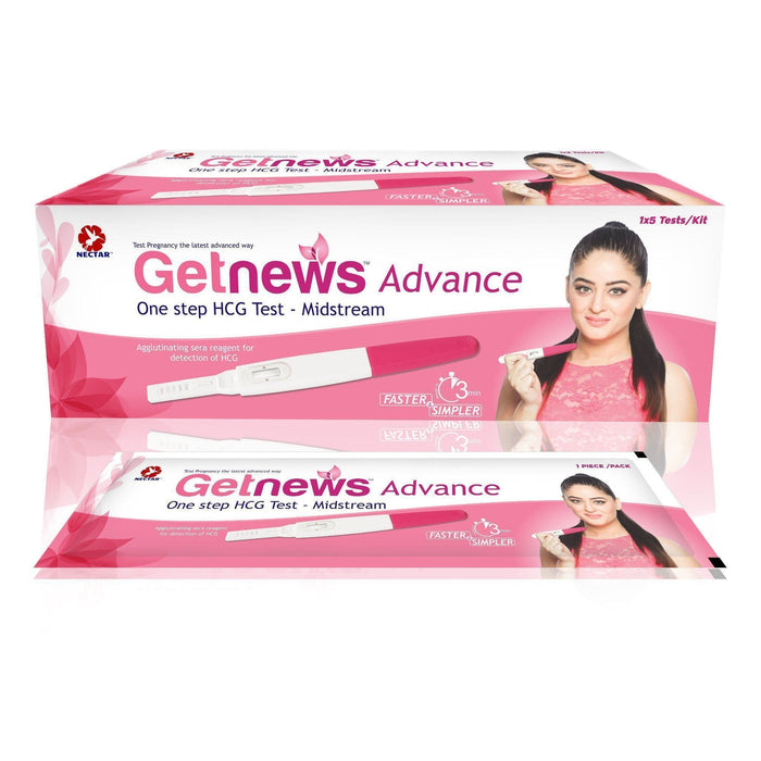 Getnews Advance Pregnancy Test Kit (Pack Of 5).