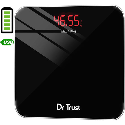 Dr Trust Weighing Scale not body fat Dr Trust USA Eco Zeus Rechargeable Digital Personal Scale Weighing Machine