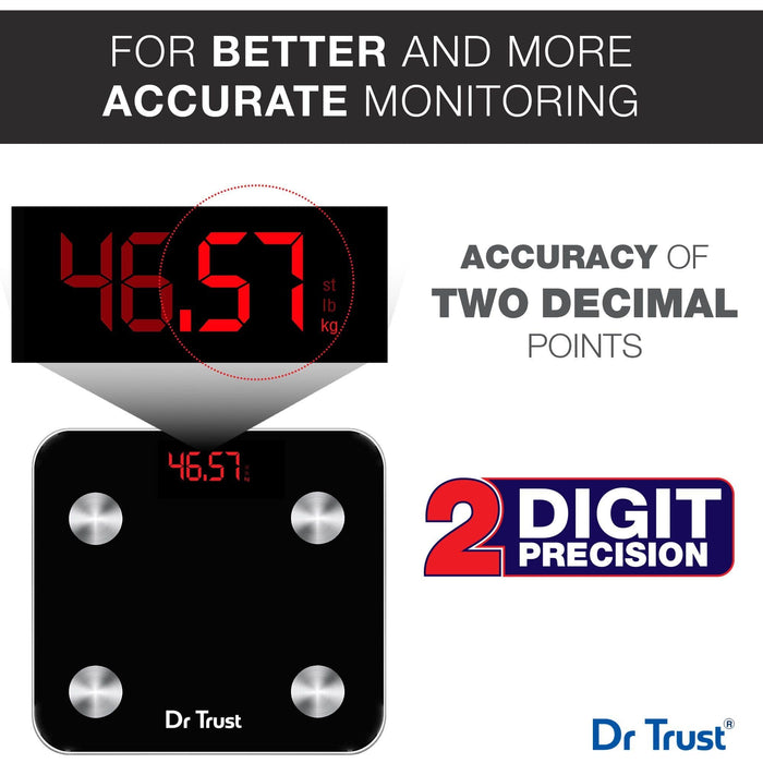 Dr Trust Weighing Scale Dr Trust USA Smart Body Fat Scale