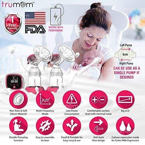 Dr Trust Trumom USA Elite Double Electric Breast Pump
