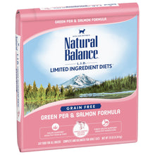 Load image into Gallery viewer, Natural Balance L.I.D. Limited Ingredient Diets Green Pea & Salmon Dry Cat Food