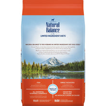 Load image into Gallery viewer, Natural Balance L.I.D. Limited Ingredient Diets Sweet Potato and Fish Adult Dry Dog Food