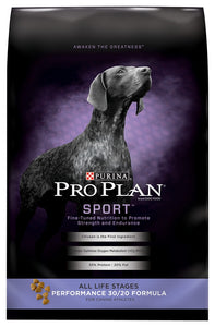 Purina Pro Plan Sport All Life Stages Performance 30/20 Formula Dry Dog Food