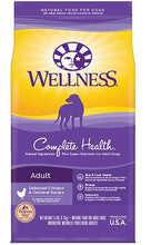 Load image into Gallery viewer, Wellness Complete Health Natural Chicken Recipe Dry Dog Food