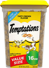 Load image into Gallery viewer, Temptations Tasty Chicken Flavor Cat Treats