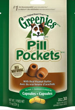 Load image into Gallery viewer, Greenies Pill Pockets Canine Peanut Butter Dog Treats