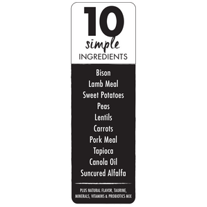 Canidae Grain Free PURE Bison, Lentil & Carrot Recipe Dry Dog Food
