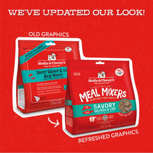 Load image into Gallery viewer, Stella & Chewy's Freeze Dried Raw Savory Salmon & Cod Meal Mixers Grain Free Dog Food Topper