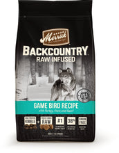 Load image into Gallery viewer, Merrick Backcountry Raw Infused Grain Free Wild Game Bird Recipe Dry Dog Food