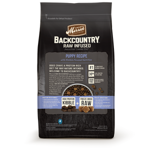 Merrick Backcountry Raw Infused Grain Free Puppy Recipe Dry Dog Food
