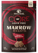 Load image into Gallery viewer, Wellness CORE Natural Grain Free Marrow Roasts Beef Recipe Dog Treats