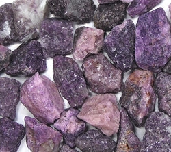 Rough Lepidolite by pound