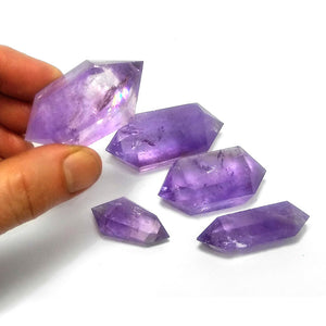 Polished Amethyst Crystal 38-41g