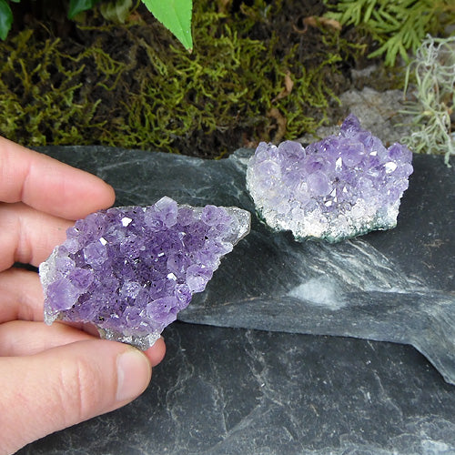 Small Amethyst Clusters 3 inch