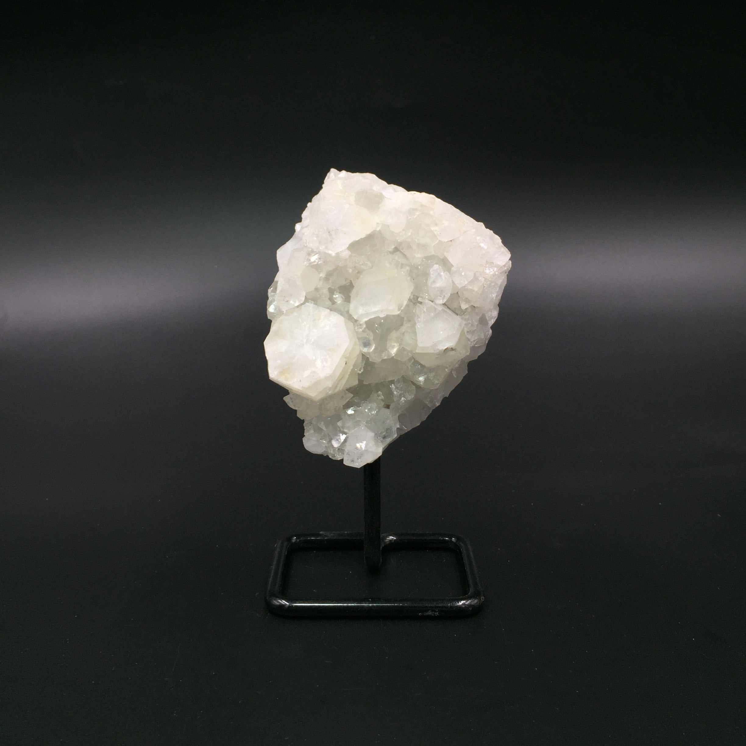 #APS-9 Apophyllite Specimen On Stand
