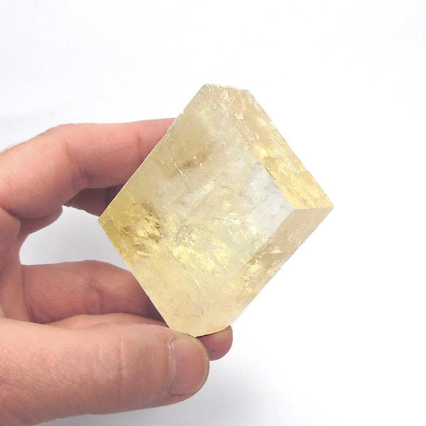 Yellow Calcite Crystal 2 inch