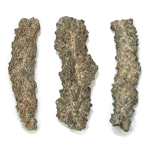 Fulgurite specimen from Egypt