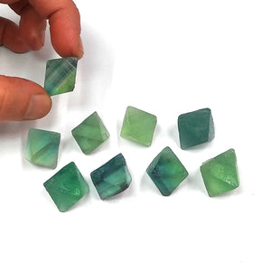 #FL-152 Small Natural Fluorite crystals 2-pack