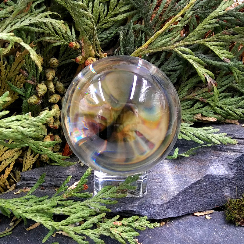 #GLS-108 Clear Glass Sphere 50mm