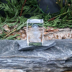 #GLS-114 Clear Glass with Buddha