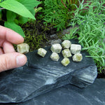 #GAR-51A Mexican Green Garnet Crystals