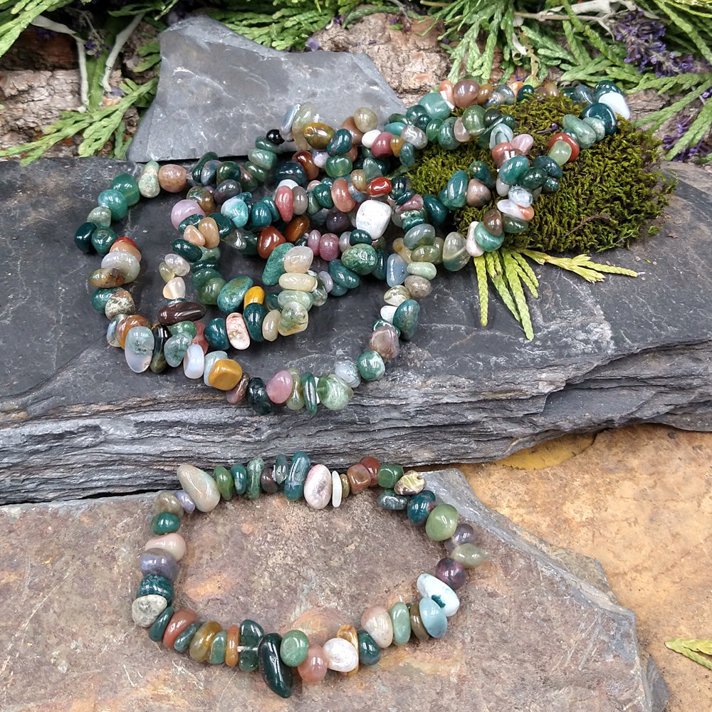 #SP-JWJSP1 Fancy Bloodstone/Jasper bracelet