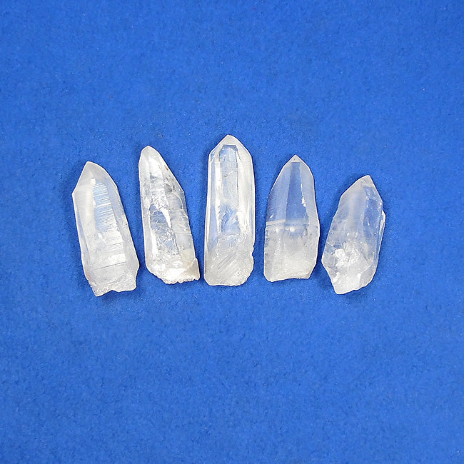 Mini Lemurian Seed Crystals 4-pack