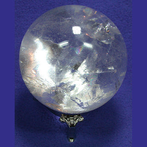 Quartz Crystal Sphere 3.5 inch