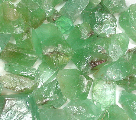 Rough Green Calcite by the pound