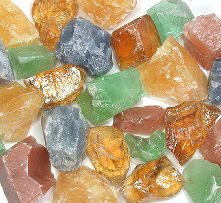 Rough Calcite Mix by the pound