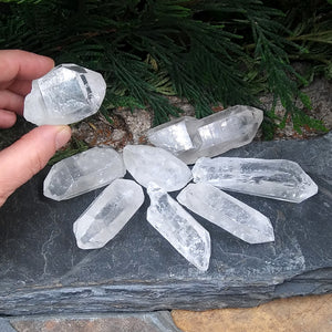 #RM-Q1 Rough Quartz Crystals B grade by lb