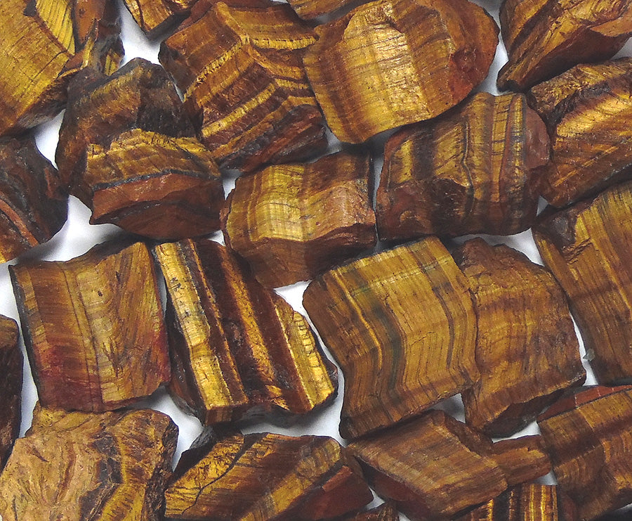 Rough Tiger Eye by the pound