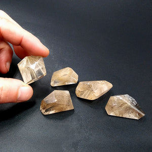 Rutilated Quartz free-form