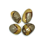 #SEP-18 Polished Septarian Nodule Stones 2pk