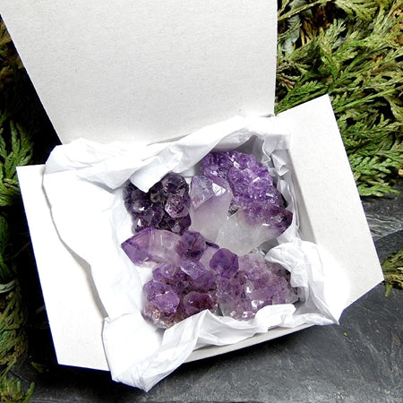 Boxed Amethyst Set