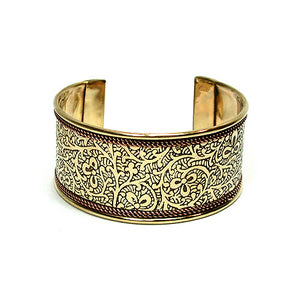 Brass & Copper Bracelet