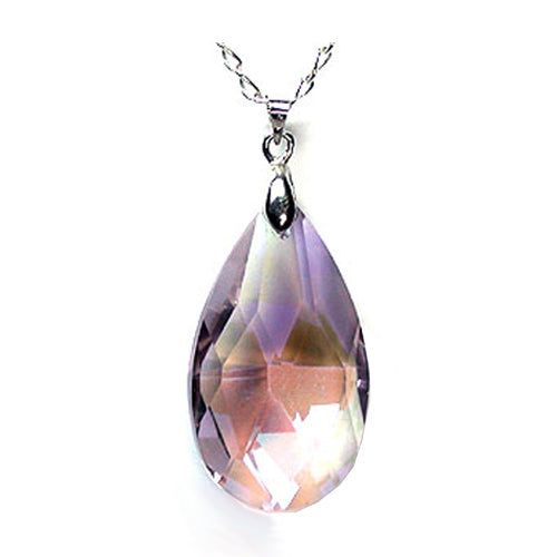 #SP-286 Faceted Glass Pendant