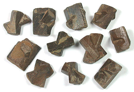 STR-2B Staurolite Specimens from Madagascar 3pk