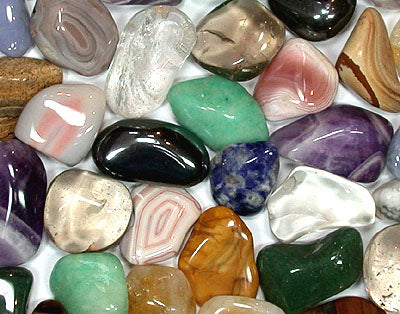 Tumbled Premium Assorted Stones