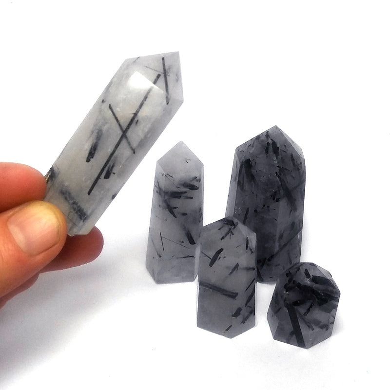 Black Tourmaline in Quartz 64-68g