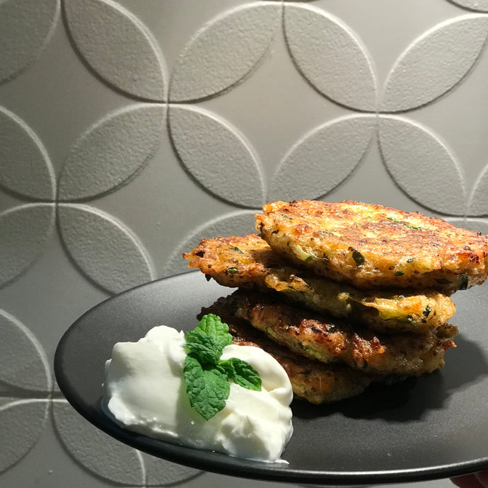Zucchini and Broccoli Fritters