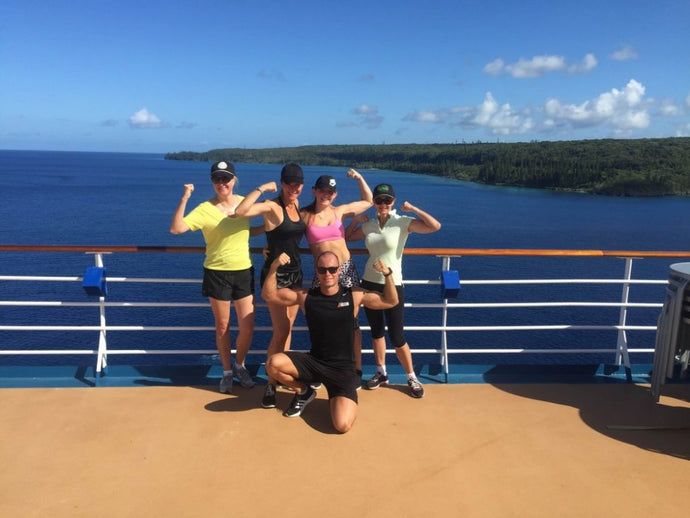 Hot tips for working out while on the Carnival Cruise!