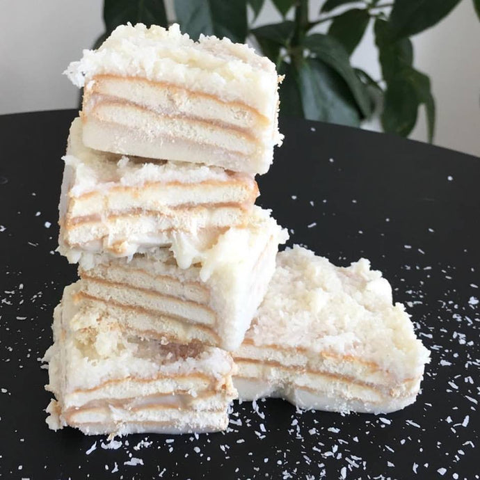 Coconut Vegan Slices