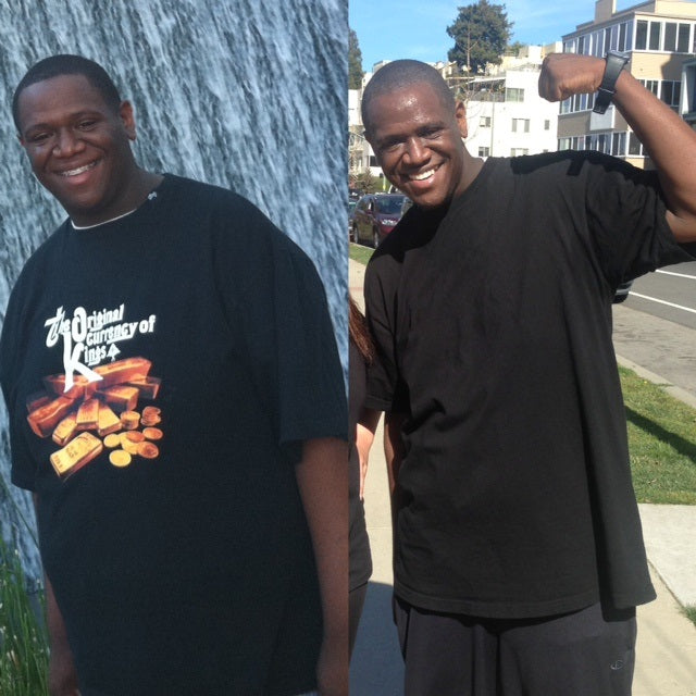 Weight loss Transformation Tuesday with Kristopher Smith