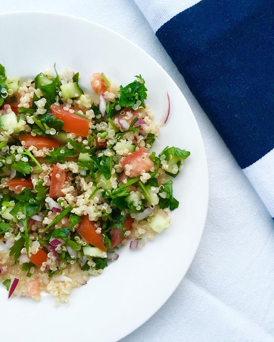 Healthy Tabouli with Quinoa