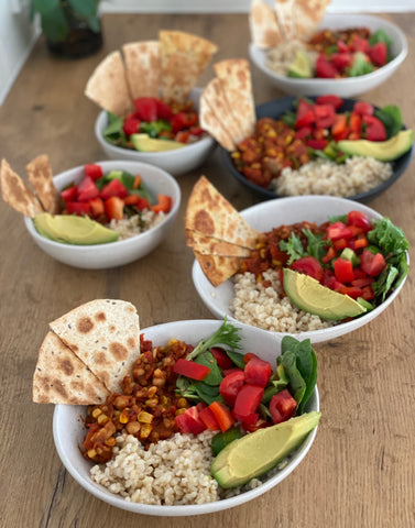 Mexican Taco Bowl HelloFresh Dani Stevens